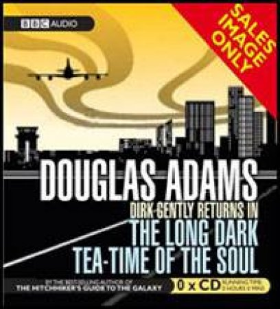 Dirk Gently Long Dark Teatime Of The Soul 3xcd By Douglas Adams