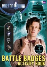 Doctor Who Battle Badges Activity Book