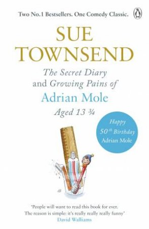 Adrian Mole Omnibus: Growing Pains & Diary by Sue Townsend