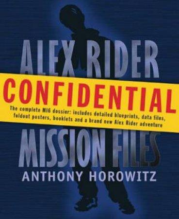 Alex Rider: The Mission Files Slipcase by Anthony Horowitz
