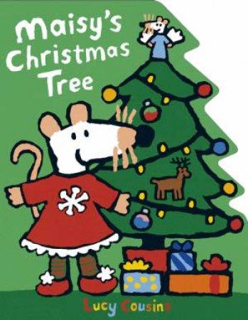 Maisy's Christmas Tree Shaped Board Book