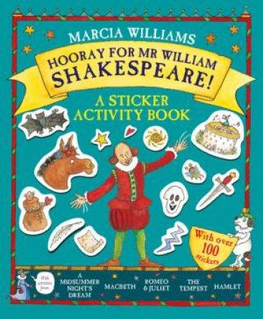 Hooray for Mr William Shakespeare Activity Book