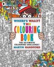 Wheres Wally The Colouring Book