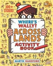 Wheres Wally Across Lands Activity Book