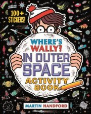 Wheres Wally In Outer Space Activity Book