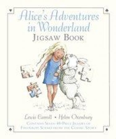 Alice's Adventures in Wonderland Jigsaw Book