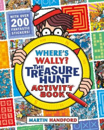 Where's Wally?: The Treasure Hunt Activity Book