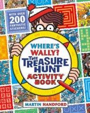 Wheres Wally The Treasure Hunt Activity Book