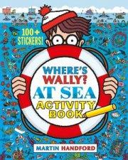 Wheres Wally At Sea Activity Book