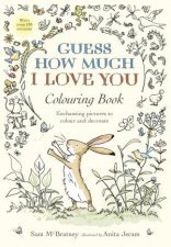 Guess How Much I Love You Colouring Book by Sam Mcbratney & Anita Jeram