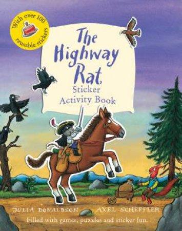 Highway Rat Sticker Activity Book