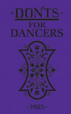 Don'ts for Dancers 1925