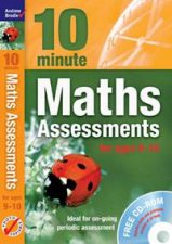 10 Minute Maths Assessments for ages 910 plus audio CD