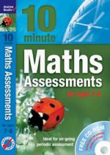 10 Minute Maths Assessments for ages 78 plus audio CD