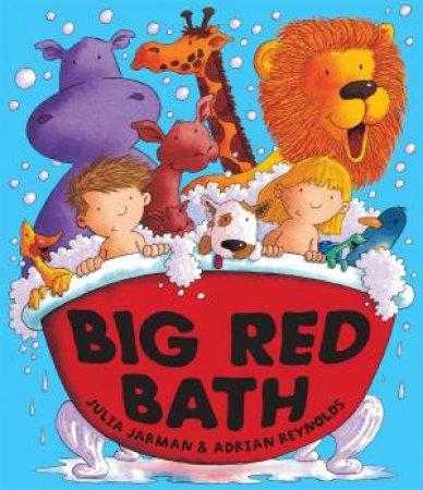 Big Red Bath by Julia; Reynolds, Jarman