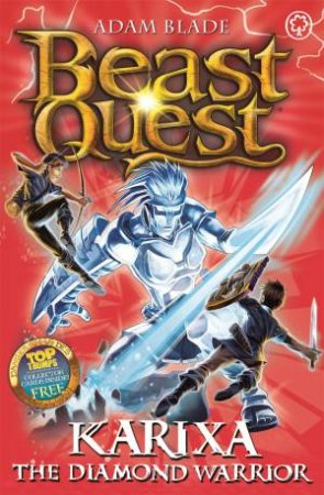 Karixa The Diamond Warrior (Trial Of Heroes 04)