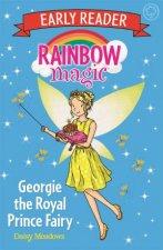 Rainbow Magic Early Reader Georgie The Royal Prince Fairy