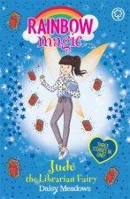 Rainbow Magic Jude the Librarian Fairy