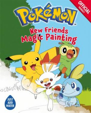 Pokemon: New Friends Magic Painting by Various