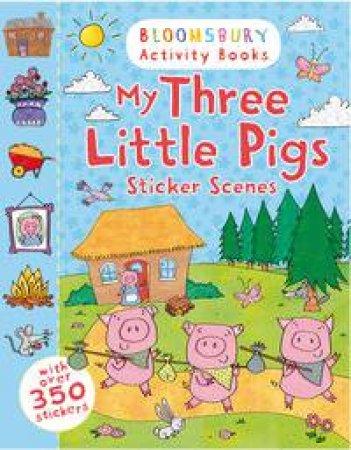 My Three Little Pigs Sticker Scenes