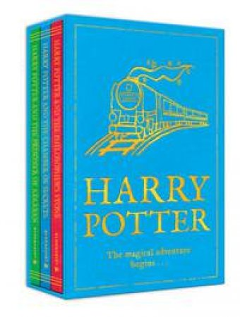 Harry Potter 1-3 Boxed Set The Magical Adventure Begins