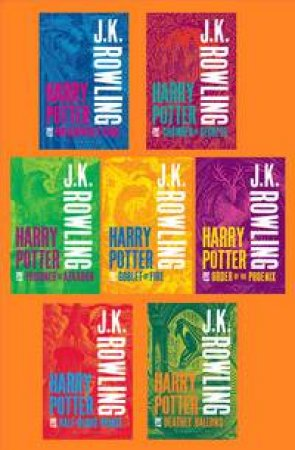 Harry Potter Boxed Set: The Complete Collection (Adult Paperbacks)