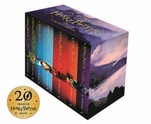 Harry Potter Boxed Set: The Complete Collection (Children's Paperback) by J.K. Rowling