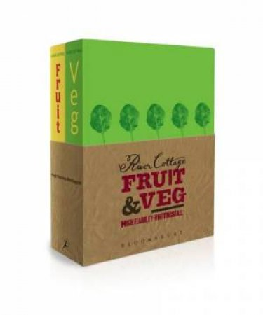 River Cottage Fruit & Veg 2 Book Pack by Hugh Fearnley-Whittingstall