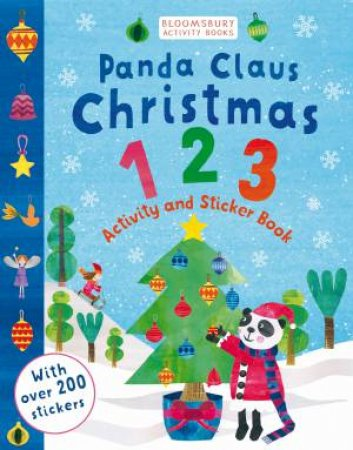 Panda Claus Christmas 123 Sticker Activity Book