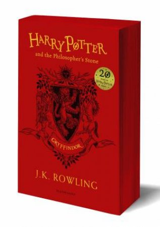 Harry Potter And The Philosopher's Stone – Gryffindor Paperback Edition