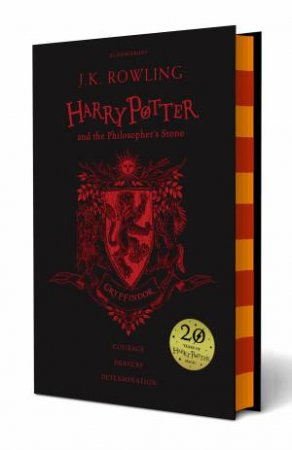 Harry Potter And The Philosopher's Stone – Gryffindor Hardcover Edition
