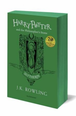 Harry Potter And The Philosopher's Stone – Slytherin Paperback Edition by J.K. Rowling