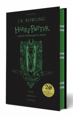 Harry Potter And The Philosopher's Stone – Slytherin Hardcover Edition