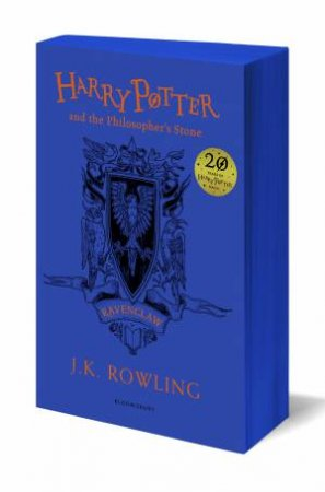 Harry Potter And The Philosopher's Stone – Ravenclaw Paperback Edition by J.K. Rowling