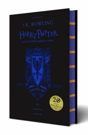 Harry Potter And The Philosopher's Stone – Ravenclaw Hardcover Edition