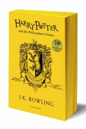 Harry Potter And The Philosopher's Stone – Hufflepuff Paperback Edition