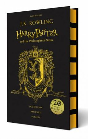 Harry Potter And The Philosopher's Stone – Hufflepuff Hardcover Edition