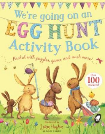 We're Going on an Egg Hunt Activity Book by Laura Hughes & Laura Hughes