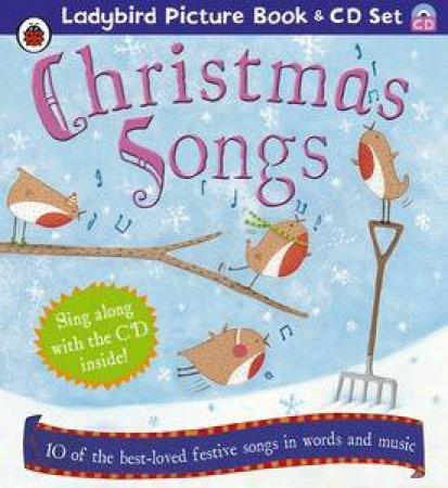 Christmas Songs plus CD by Ladybird