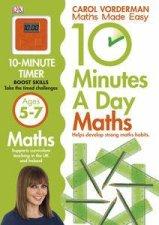 10 Minutes A Day First Math Skills