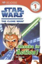 Star Wars Clone Wars Ahsoka in Action