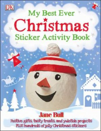 My Best Ever Christmas Activity Book by Jane Bull