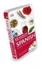 15 Minute Spanish: Eyewitness Travel Book & CD Pack by Various
