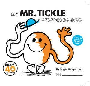 Mr Tickle Colouring Book by Roger Hargreaves