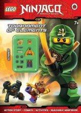 LEGO Ninjago Tournament of Elements Activity Book with Minifigure