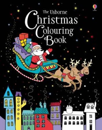 The Usborne Christmas Colouring Book by Various