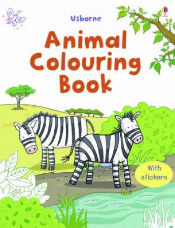 Animal Colouring Book by Usborne