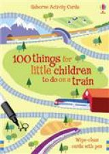 100 Things for Children to do on a Train