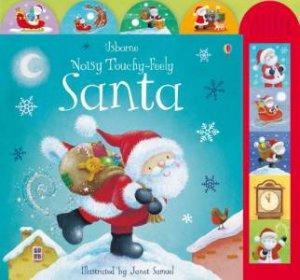 Usborne Noisy Touchy Feely: Santa by Various