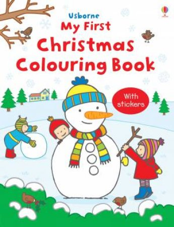 Usborne My First Christmas Colouring Book by Various